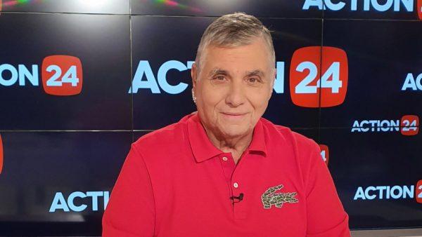 Τέλος (και) από το Action24 ο Γιώργος Τράγκας