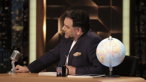 «The 2Night Show»: Tέλος από την εκπομπή του Γρηγόρη Αρναούτογλου (Vid)
