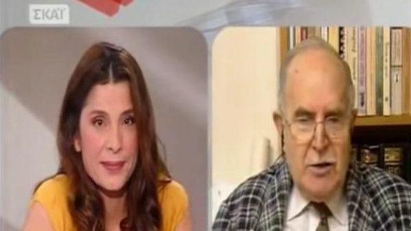 Ντίνος Χριστιανόπουλος: Η αλησμόνητη τηλεοπτική συνάντηση με την Πόπη Τσαπανίδου