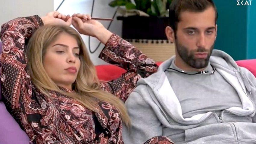 Δανέζη – Κεχαγιάς σε νέα πλάvα στο σπίτι του «Big Brother» (Pics)