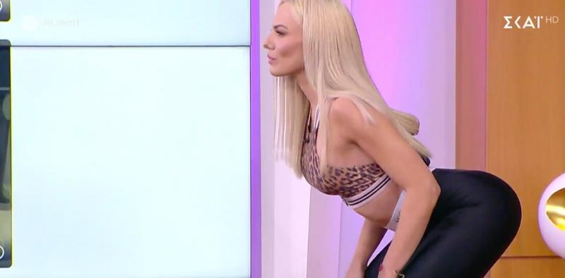 Το απόλυτο 10άρι: Η Ιωάννα Μαλέσκου γυμνάζεται και αποδεικνύει πως έχει το νο1 σώμα (Vid & Pics)