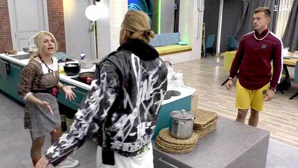 Νέος καβγάς στο «Big Brother» με πρωταγωνίστρια την Άννα – Μαρία (Vid)