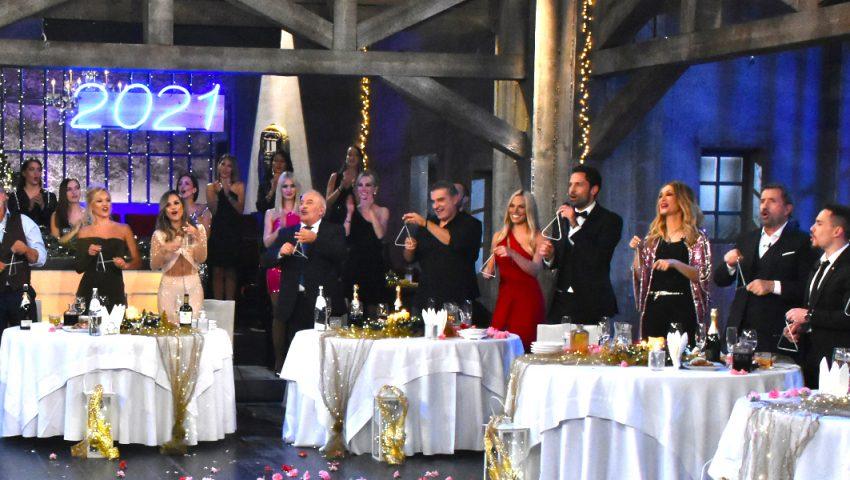Παραμονή Πρωτοχρονιάς: Με ποιο πρόγραμμα άλλαξαν τη χρονιά οι τηλεθεατές;