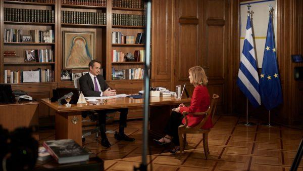 Ο Κυριάκος Μητσοτάκης στο Star: Tα νούμερα τηλεθέασης της συνέντευξης του πρωθυπουργού