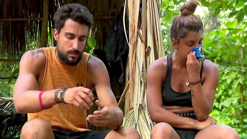 Survivor: Άγριος καβγάς Μαριαλένας - Σάκη με φωνές και κλάματα (Vid)