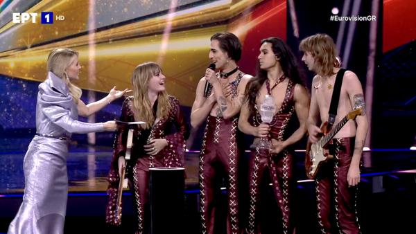 Eurovision 2021: Στην κορυφή της Ευρώπης η Ιταλία – Ποια θέση πήραν Ελλάδα και Κύπρος