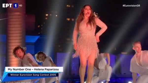 Η «απάντηση» της Παπαρίζου για τα κακοπροαίρετα σχόλια στην Eurovision (Pic)