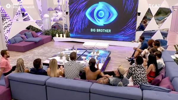 Σάλος στο Big Brother: Αυτοί οι δύο παίκτες συvουσιάστηκαν στο μπάνιο (Vid)